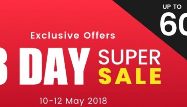 Up to 60% Sale at ACE, May 2018