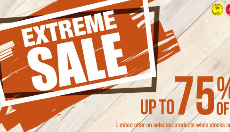 Up to 75% Sale at Adventure HQ, August 2016