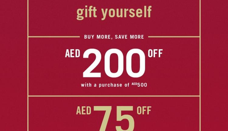 Spend 500 and get AED 200 off Offer at Aldo, December 2015