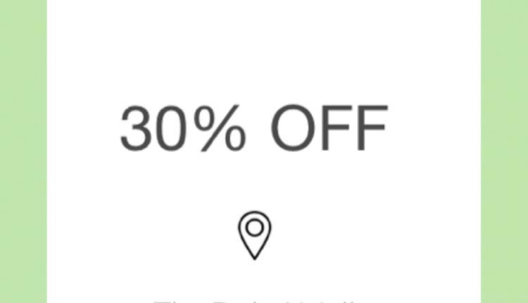 Up to 30% Sale at Armani Dubai, May 2018