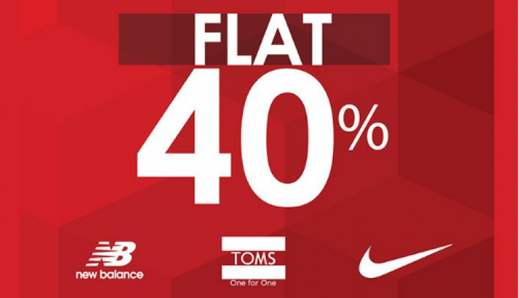 Up to 40% Sale at Athlete's Co., November 2017