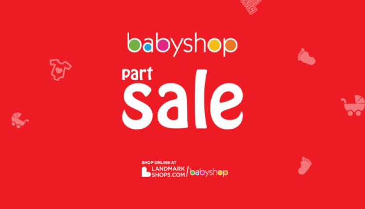 25% - 70% Sale at BabyShop, January 2018