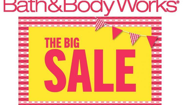 30% - 50% Sale at Bath & Body Works, July 2017