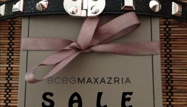 30% - 60% Sale at BCBG MAXAZRIA, May 2017