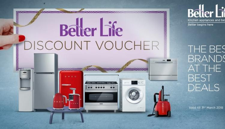 Special Offer at Better Life, March 2018