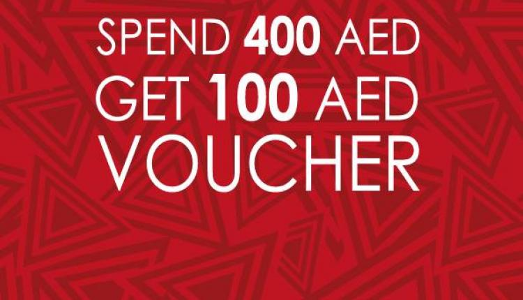Spend 400 and get a 100 AED voucher Offer at Beyond The Beach, November 2014
