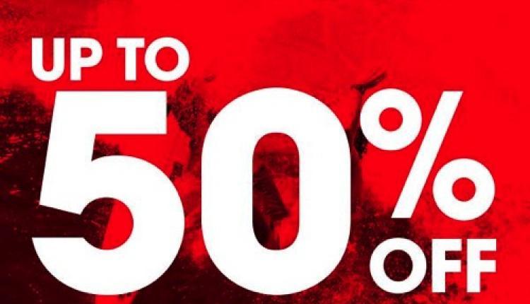 30% - 50% Sale at Billabong, May 2018