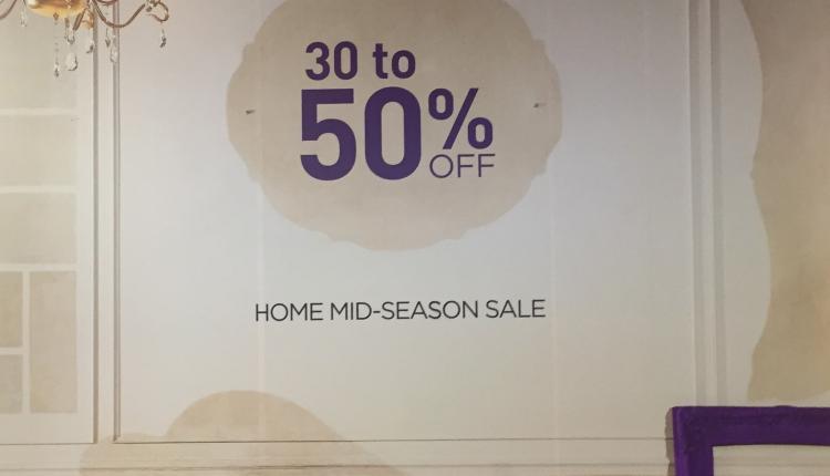 30% - 50% Sale at Bloomingdale's, May 2017