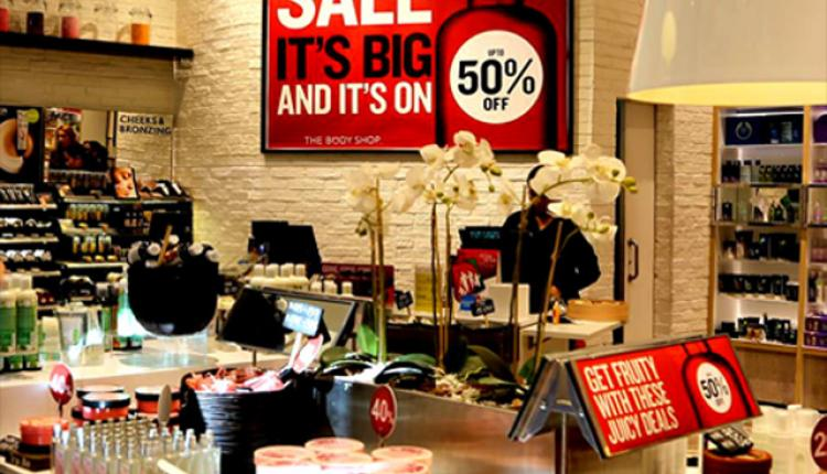 Up to 50% Sale at The Body Shop, February 2015