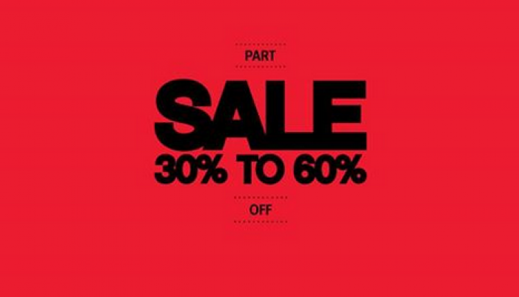 30% - 60% Sale at Call It Spring, January 2017