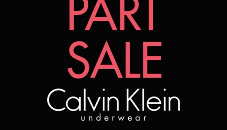 25% - 50% Sale at Calvin Klein Underwear, December 2017