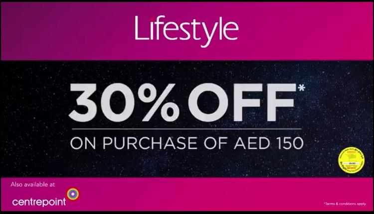 Spend 150 & get 30% off on all beauty purchases Offer at centrepoint, February 2018