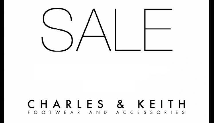 30% - 50% Sale at Charles & Keith, January 2018