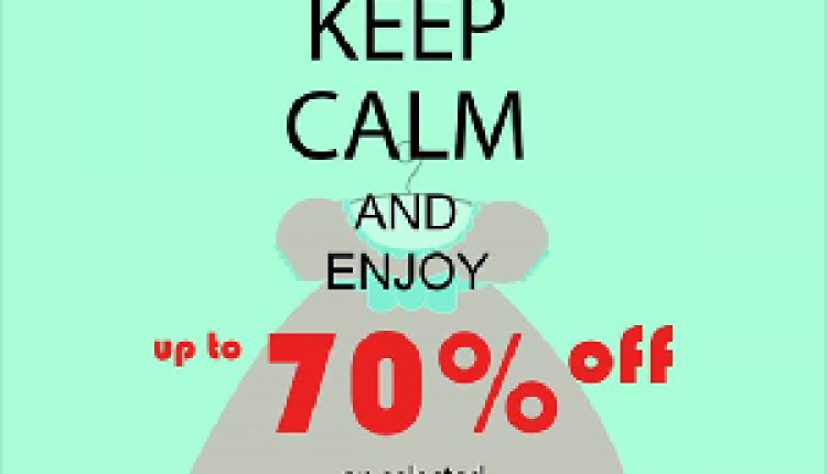 30% - 70% Sale at Chicco, April 2018