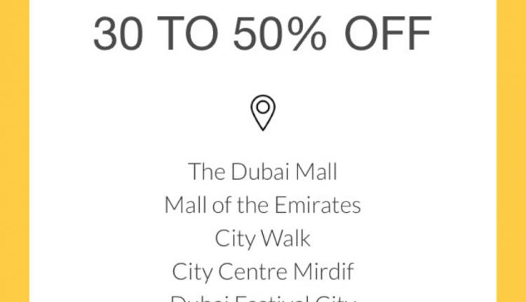 30% - 50% Sale at Coach, May 2018