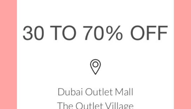 30% - 70% Sale at Coach, May 2018