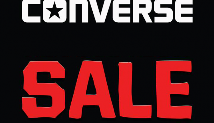 Up to 30% Sale at Converse, September 2017