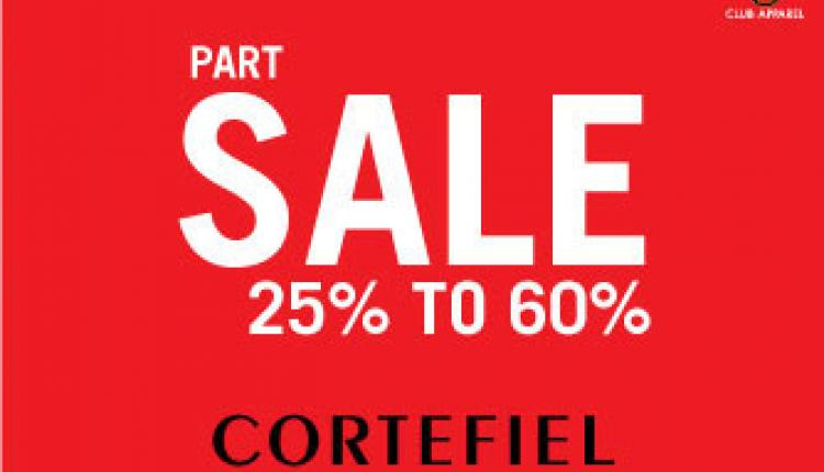 25% - 50% Sale at Cortefiel, February 2015