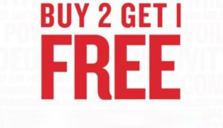Buy 2 and get 1 Offer at Cotton On, November 2017