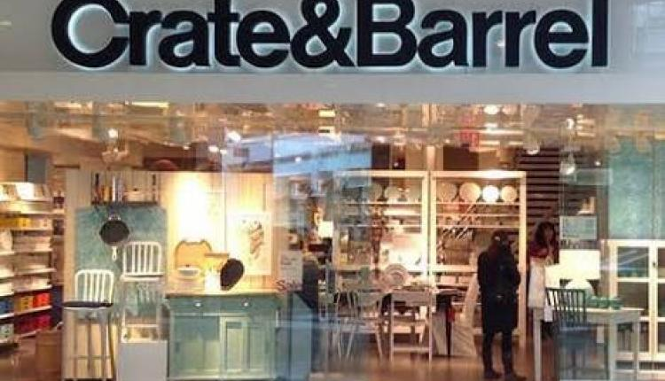 Up to 30% Sale at Crate & Barrel, August 2017