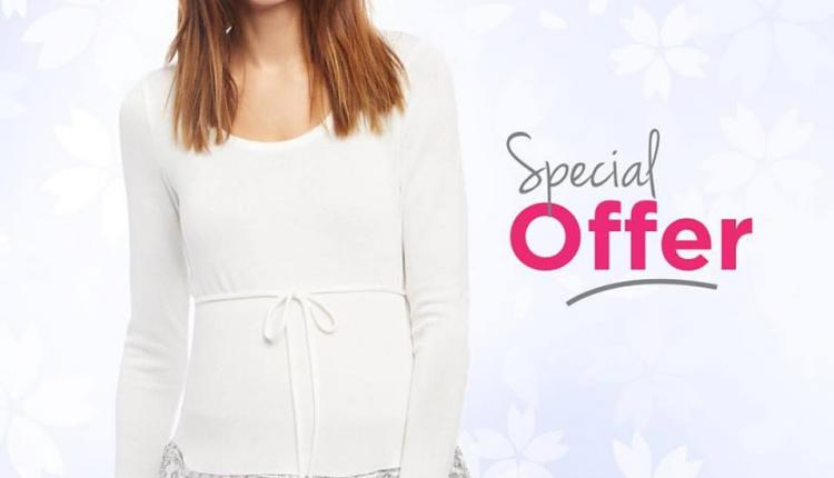 Buy 2 and get 1 Offer at Destination Maternity, April 2018