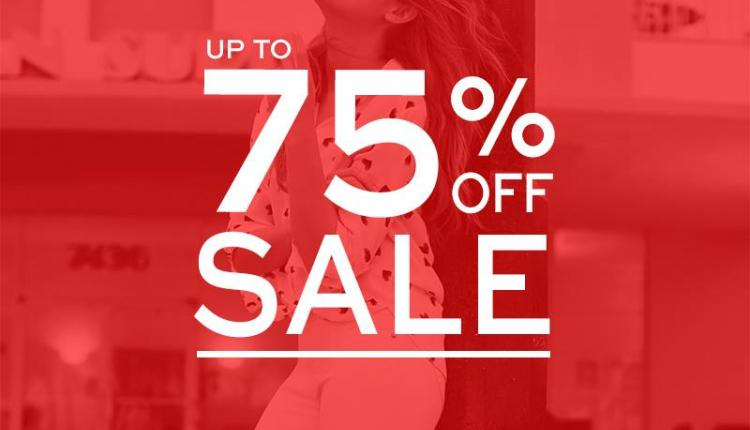 50% - 75% Sale at Dorothy Perkins, February 2016