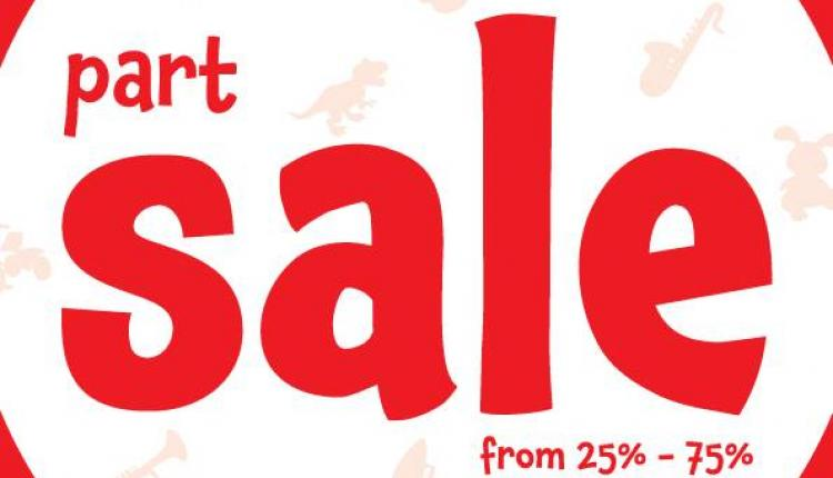25% - 75% Sale at Early Learning Centre, January 2017