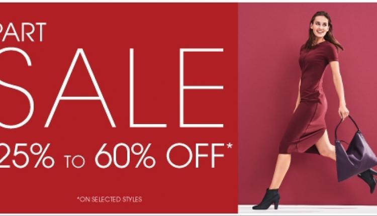 25% - 60% Sale at Ecco, November 2017