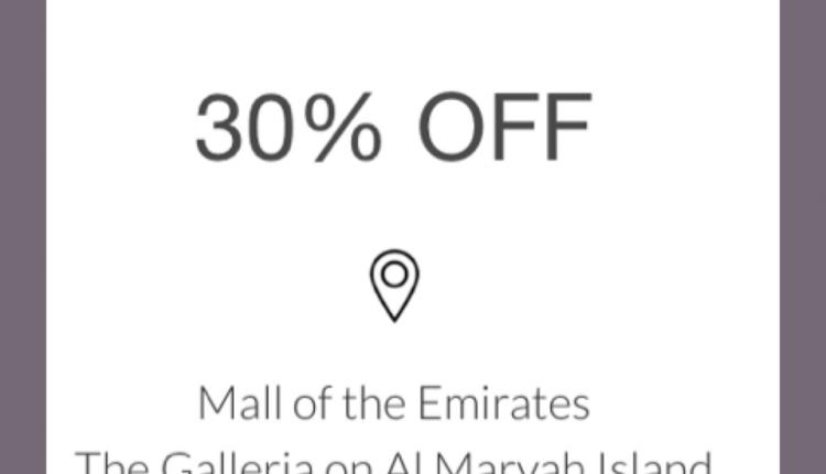 Up to 30% Sale at Emporio Armani, May 2018