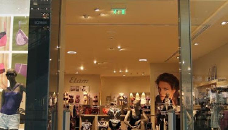 30% - 70% Sale at Etam Lingerie, August 2017