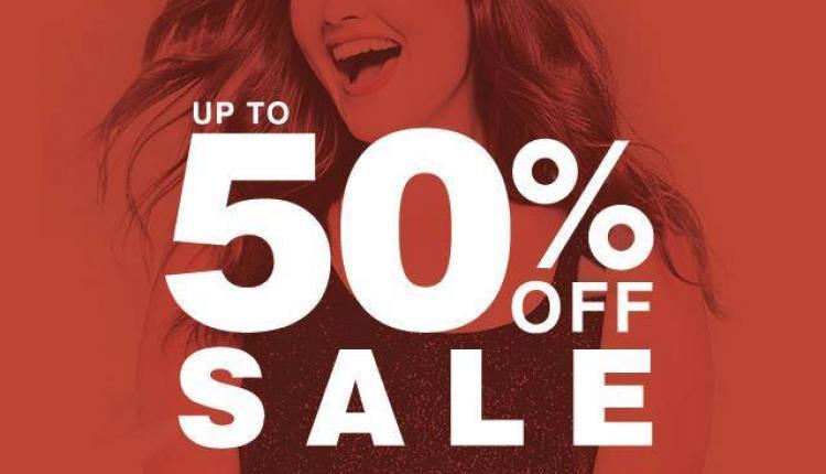 30% - 50% Sale at Evans, April 2017