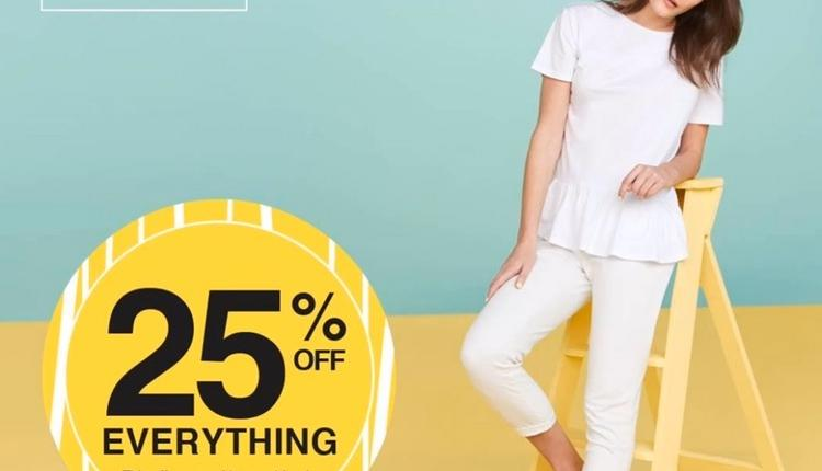 Up to 25% Sale at F & F, May 2017
