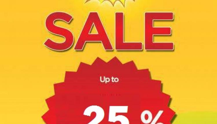 Up to 25% Sale at The Face Shop, February 2016