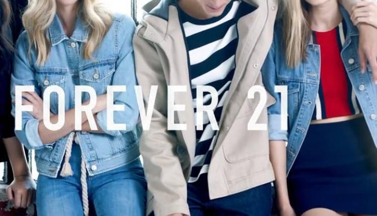 25% - 70% Sale at Forever 21, January 2017