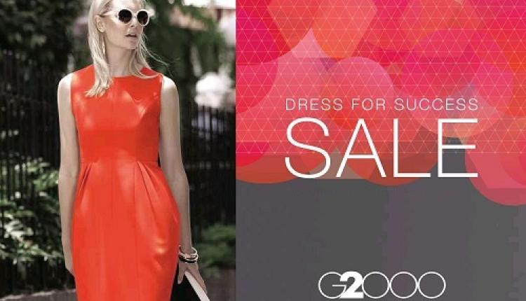 30% - 60% Sale at G2000, August 2017