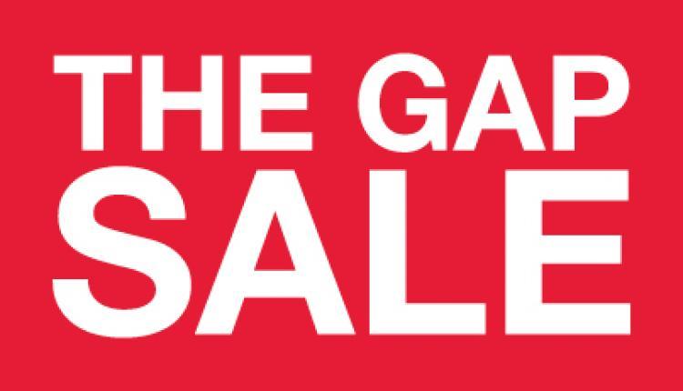 30% - 60% Sale at Gap, October 2017