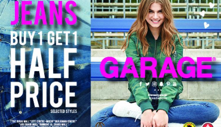 Buy 1 and get 1 Offer at Garage, November 2016