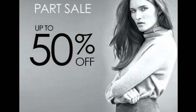 Up to 50% Sale at Gerard Darel, February 2015