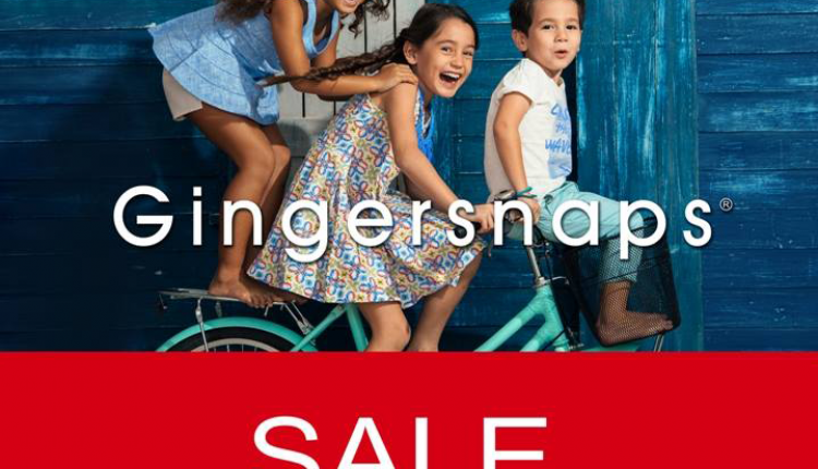 Up to 60% Sale at Gingersnaps, February 2016