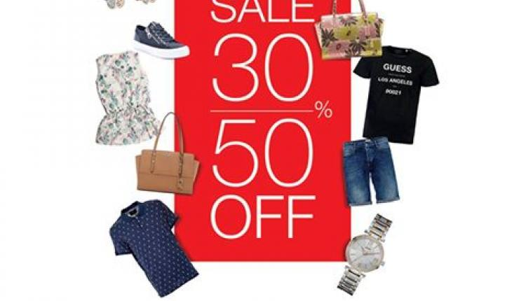 30% - 50% Sale at Guess, July 2017