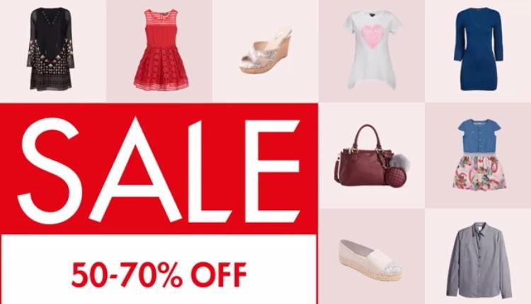 50% - 70% Sale at Guess, January 2018