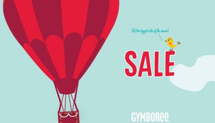 30% - 80% Sale at Gymboree, May 2018