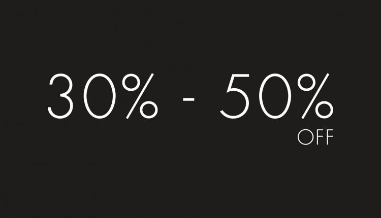 30% - 50% Sale at Harvey Nicolas, May 2017