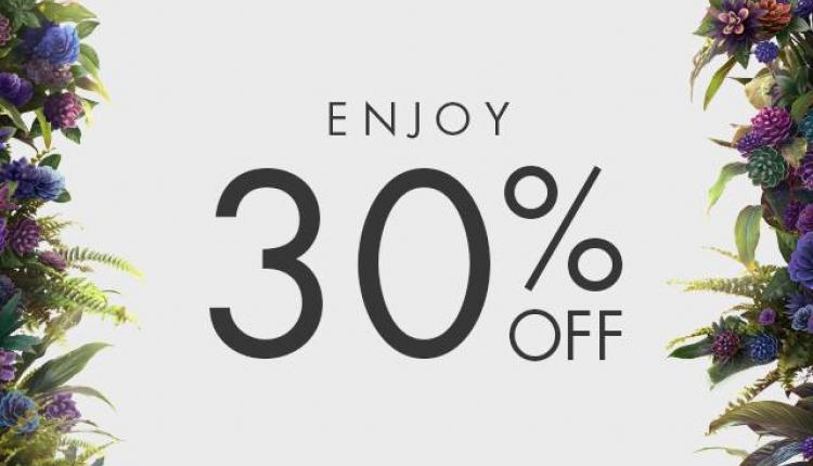Up to 30% Sale at Harvey Nicolas, October 2017