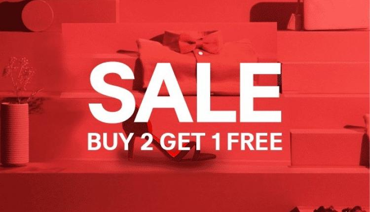 Buy 2 and get 1 Offer at H&M, August 2018