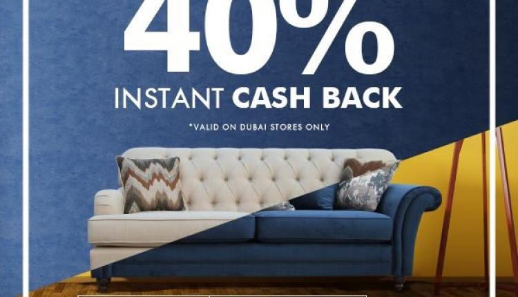 Spend 1500 and get 40% cash back Offer at Home Box, July 2017