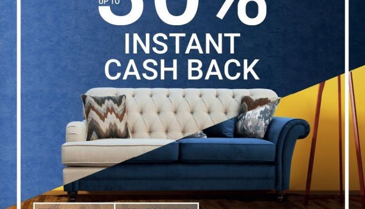Spend 2500 And get 30% cashback Offer at Home Box, March 2018