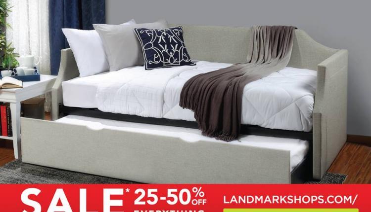 25% - 50% Sale at Home Center, November 2016