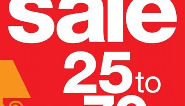 25% - 70% Sale at Homes R US, February 2015