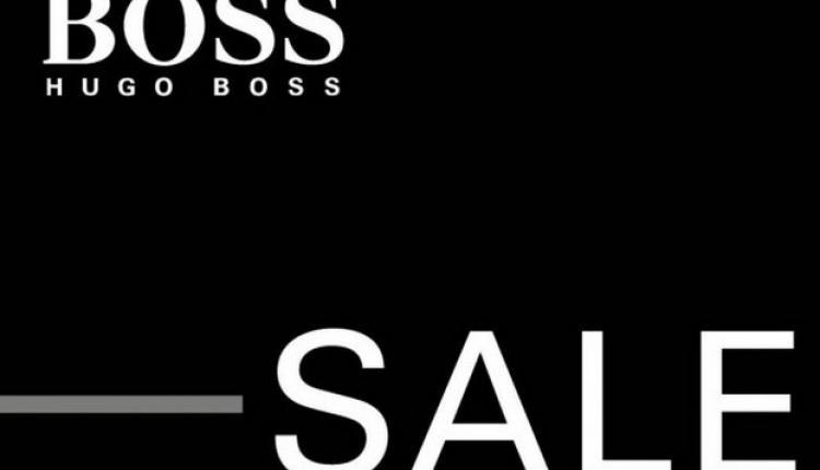 30% - 40% Sale at Hugo Boss, August 2016